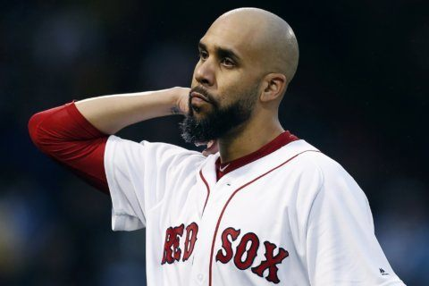 Red Sox pitcher Price on 10-day IL with cyst on left wrist
