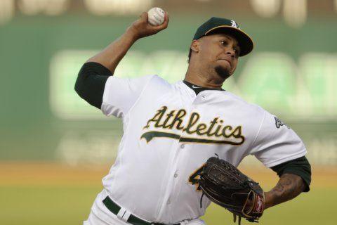 A's pitcher Montas suspended 80 games for drug violation