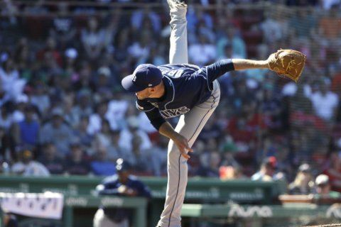 Lowe's 2 HRs, Snell's start carries Rays past Red Sox, 6-1