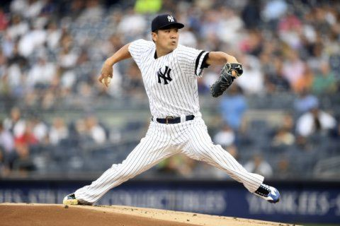 Yankees beat Rays 3-0, Encarnación hitless in New York debut