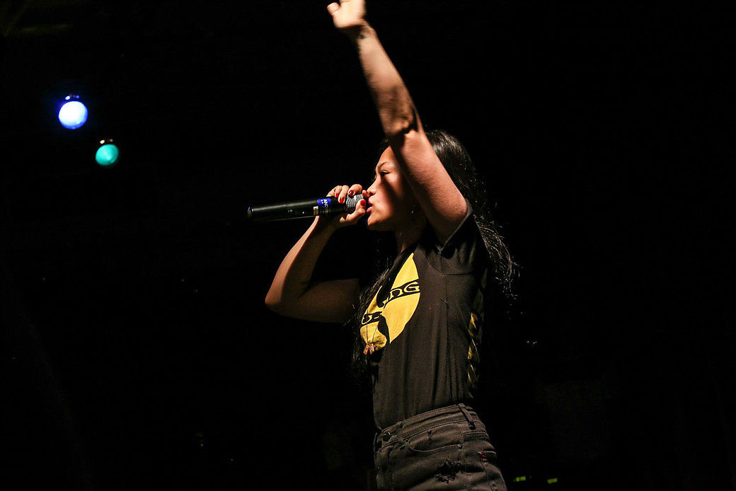 Rapper Ruby Ibarra will perform Saturday at the Smithsonian Folklife Festival. (Courtesy Smithsonian Institution)
