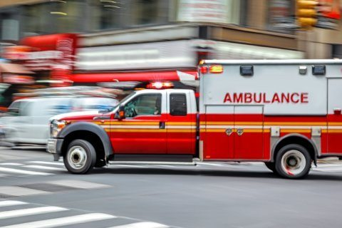 Child injured by falling glass pane at Bethesda apartment