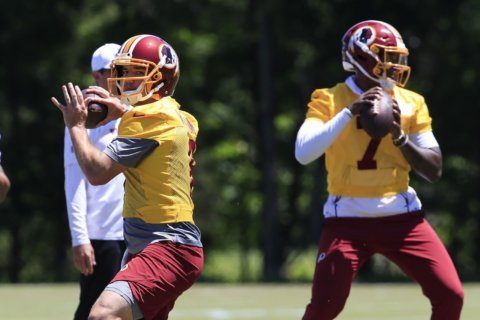 Pro Bowler Trent Williams absent as Redskins begin minicamp