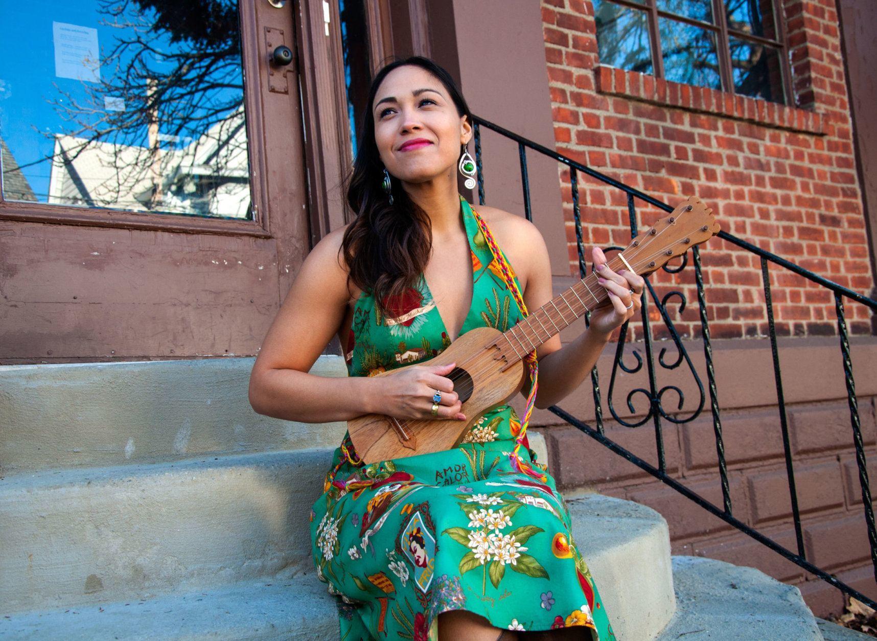 Sonia De Los Santos will perform Sunday at the Smithsonian Folklife Festival. (Courtesy Mikel Melcon)