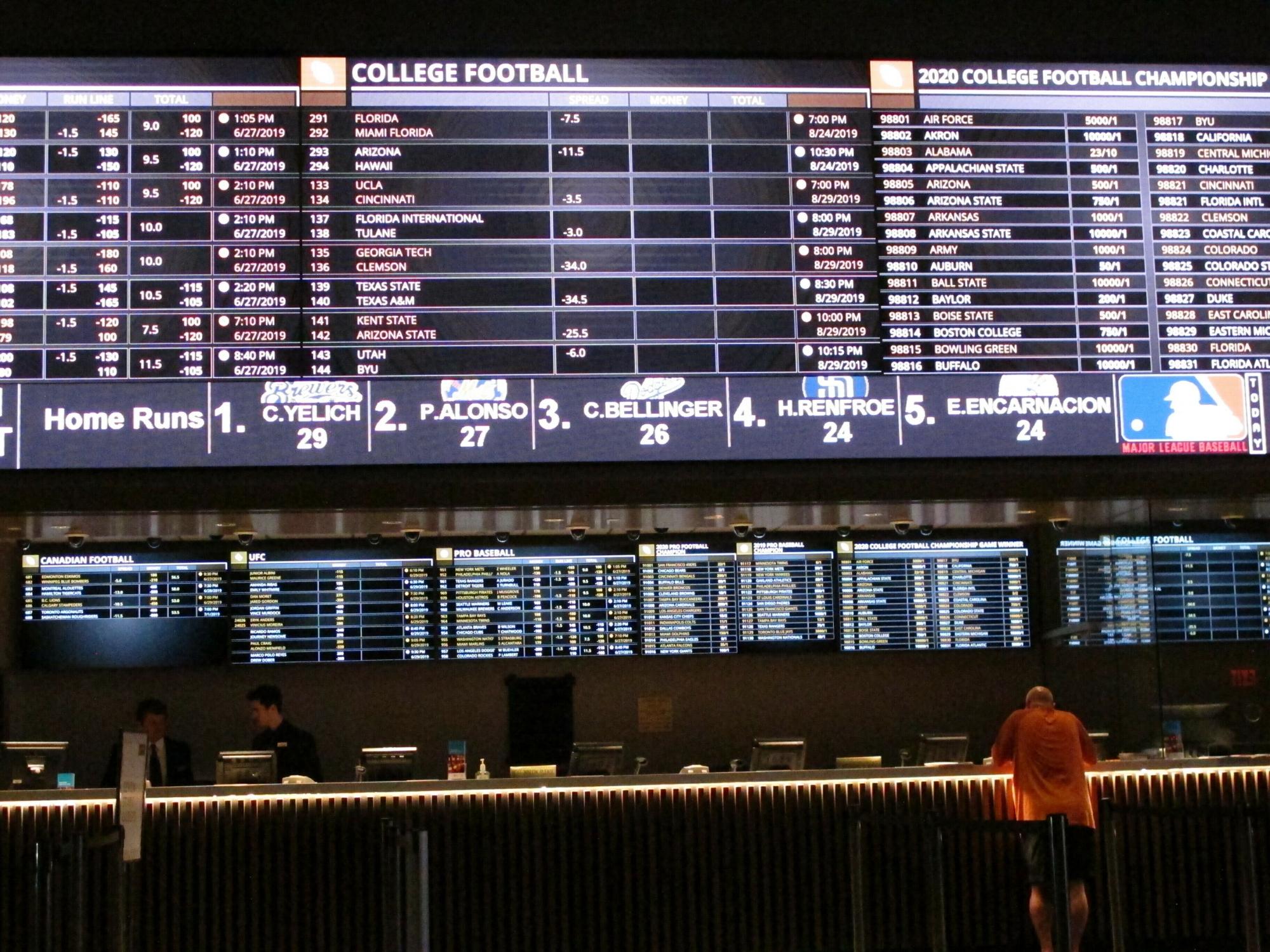Intralot dc sports betting vegas com betting line