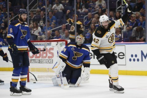 The Latest: Boston Bruins force Game 7 in Stanley Cup Final