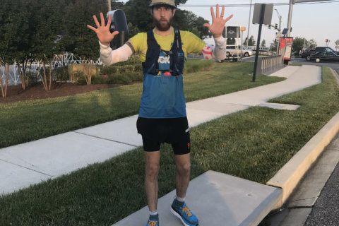 Virginia man runs whole length of Capital Beltway in scorching heat