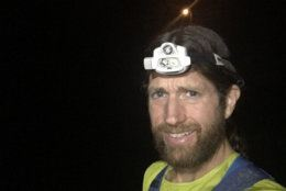 Wardian, of Arlington, Virginia, ran the 89.9 miles of the Beltway in 17 hours, 54 minutes and 59 seconds. (Courtesy Michael Wardian)