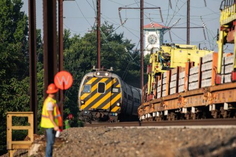 Amtrak upgrading low-speed track between DC and Baltimore