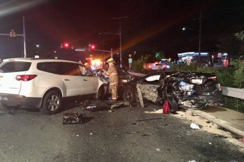 Several injured in Montgomery Co. multi-vehicle crash