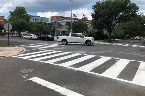 Look for new crosswalks around DC — they should be easy to notice