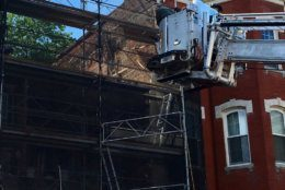 A building inspector said nearby homes are safe to be reoccupied, according to D.C. Fire and EMS. (Courtesy DC Fire and EMS)