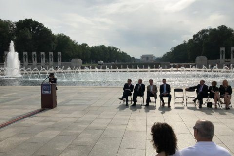 9,000 names read at World War II Memorial for 75th anniversary of D-Day