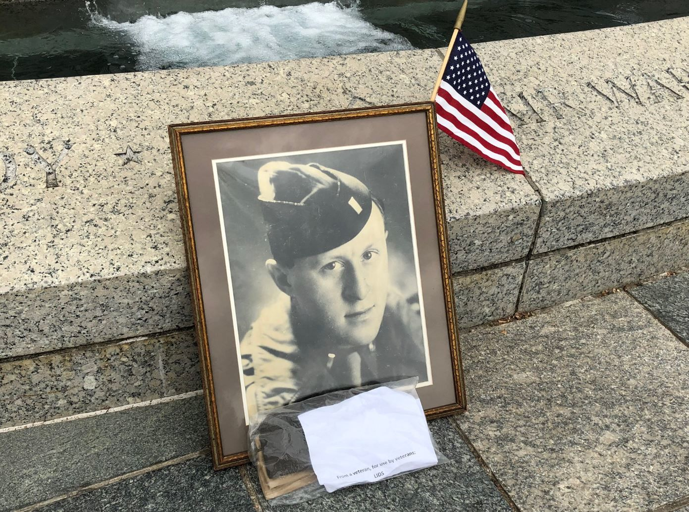 Those who died  were honored at the National World War II Memorial in D.C. on the eve of the 75th anniversary of D-Day. (WTOP/Michelle Basch)