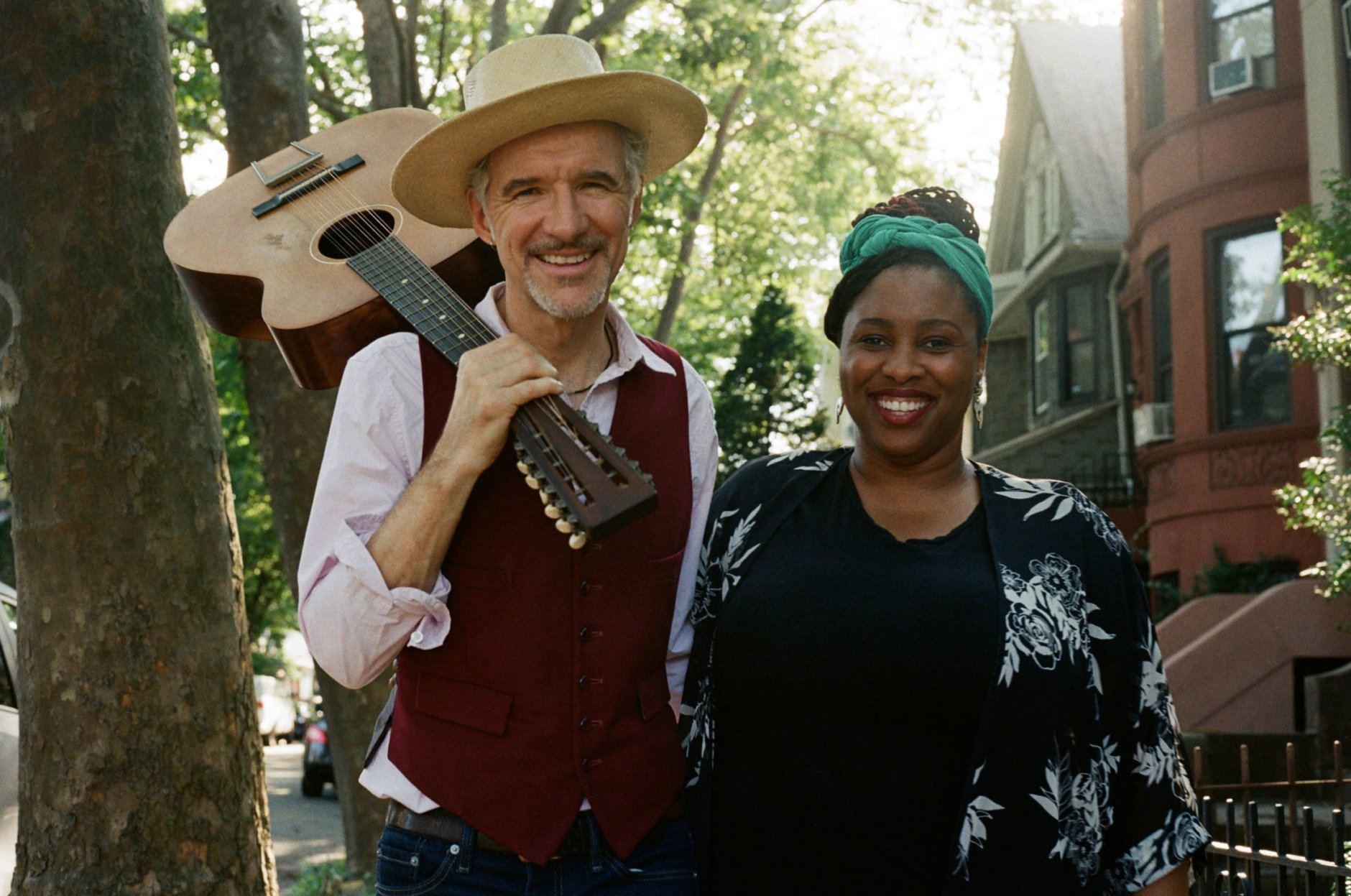 Dan and Claudia Zanes will perform Sunday at the Smithsonian Folklife Festival. (Courtesy Anna Zanes)