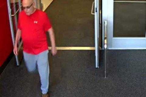 Fairfax County police seek suspect who exposed himself at a Target parking lot