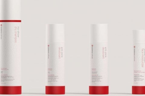 Lululemon launches sweat-friendly line of beauty products