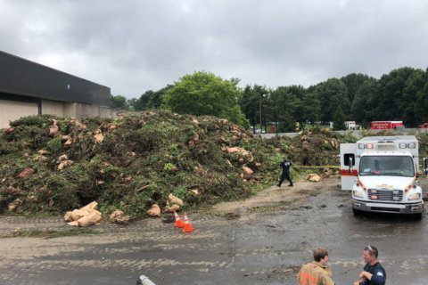 Worker dies after buried under debris at Montgomery Co. solid waste transfer station