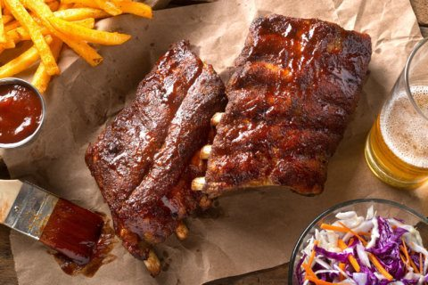 Wanted: Someone to eat ribs and travel the country. Salary: $5,000 a week
