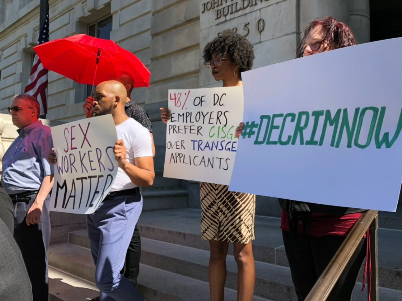 A proposed bill aims to take out the criminal penalties of prostitution when it involves consenting adults. (WTOP/Michelle Basch)