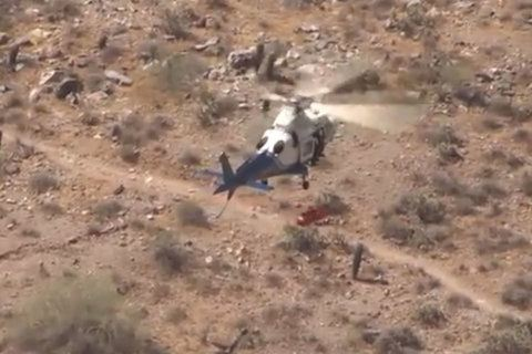 VIDEO: Watch a Ariz. helicopter rescue go wildly off track