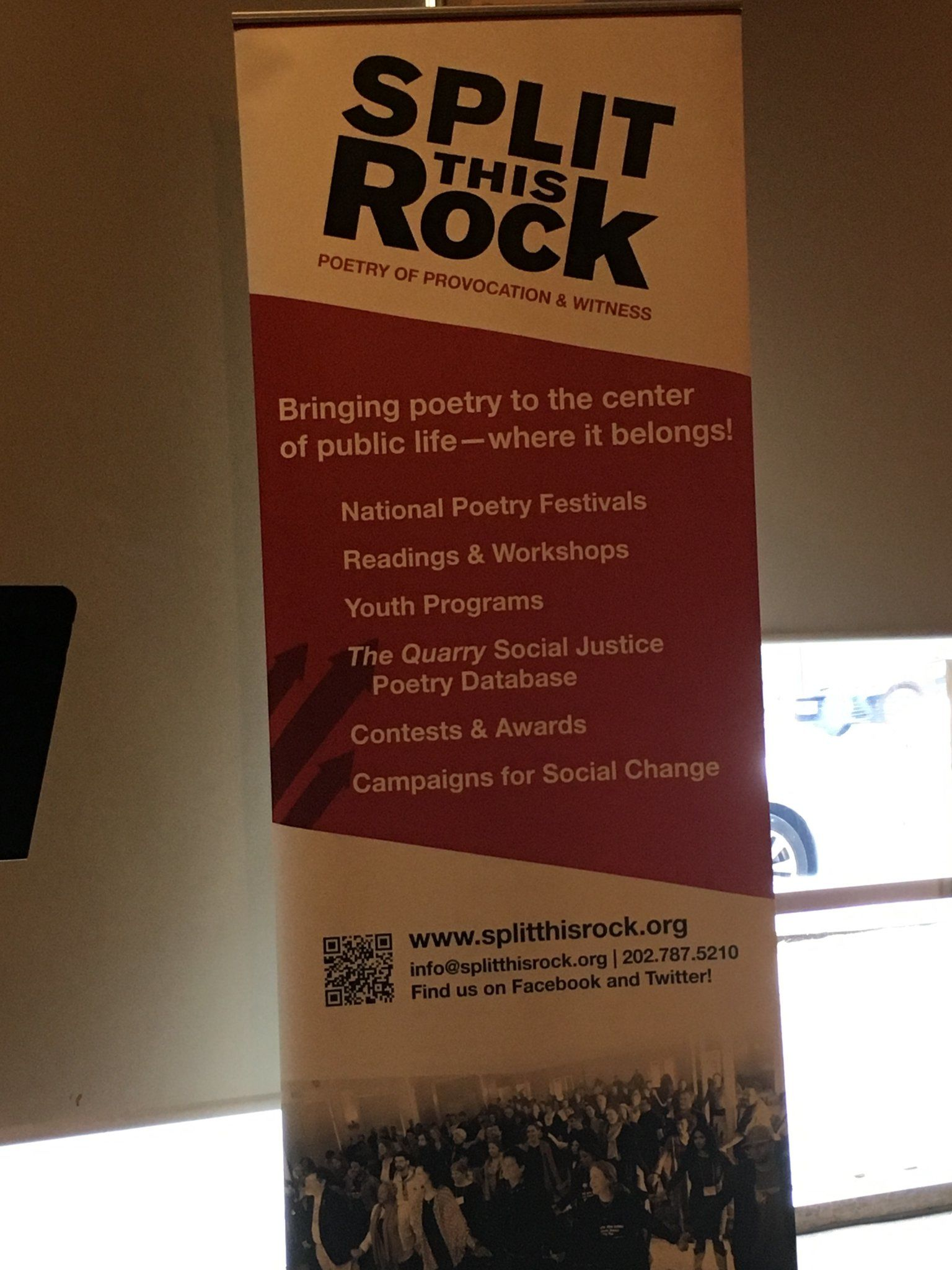 'Split This Rock' teen poets open local reading; prep for Las Vegas festival