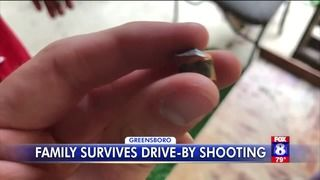 'He had an angel with him': Bullet stops in teen's ear during drive-by shooting in North Carolina