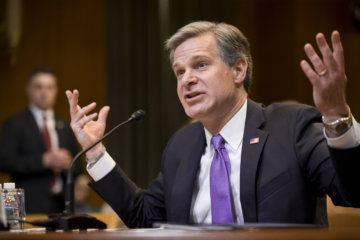 WATCH: FBI Director Christopher Wray testifies before Senate committee
