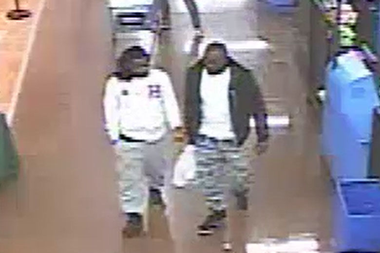 Photo of Daron Wint and Darrell Wint at Walmart