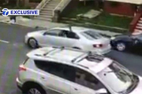 Video shows gunmen spray bullets on New Jersey porch, hitting 15-year-old girl