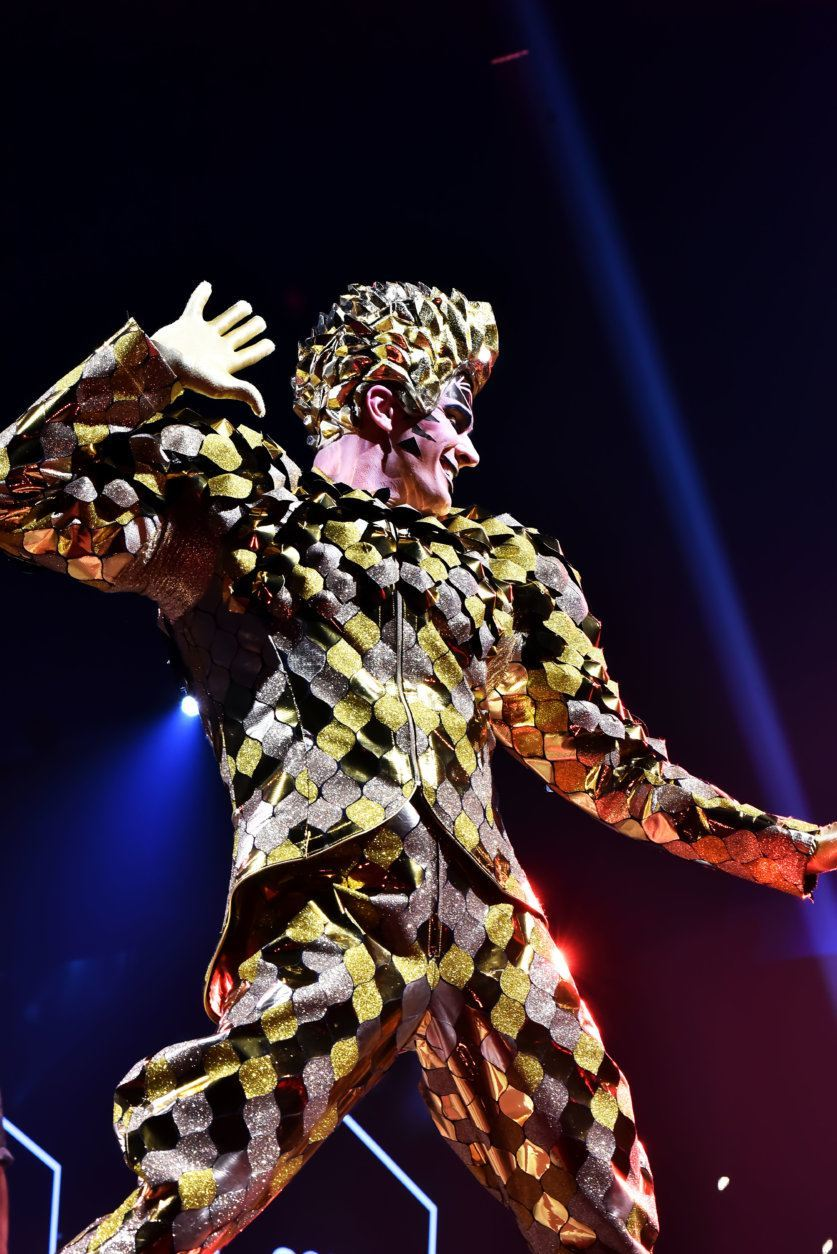 <p>The Washington, D.C. premiere of Cirque du Soleil&#8217;s &#8220;VOLTA&#8221; in Tysons on Thursday, July 25.</p>
