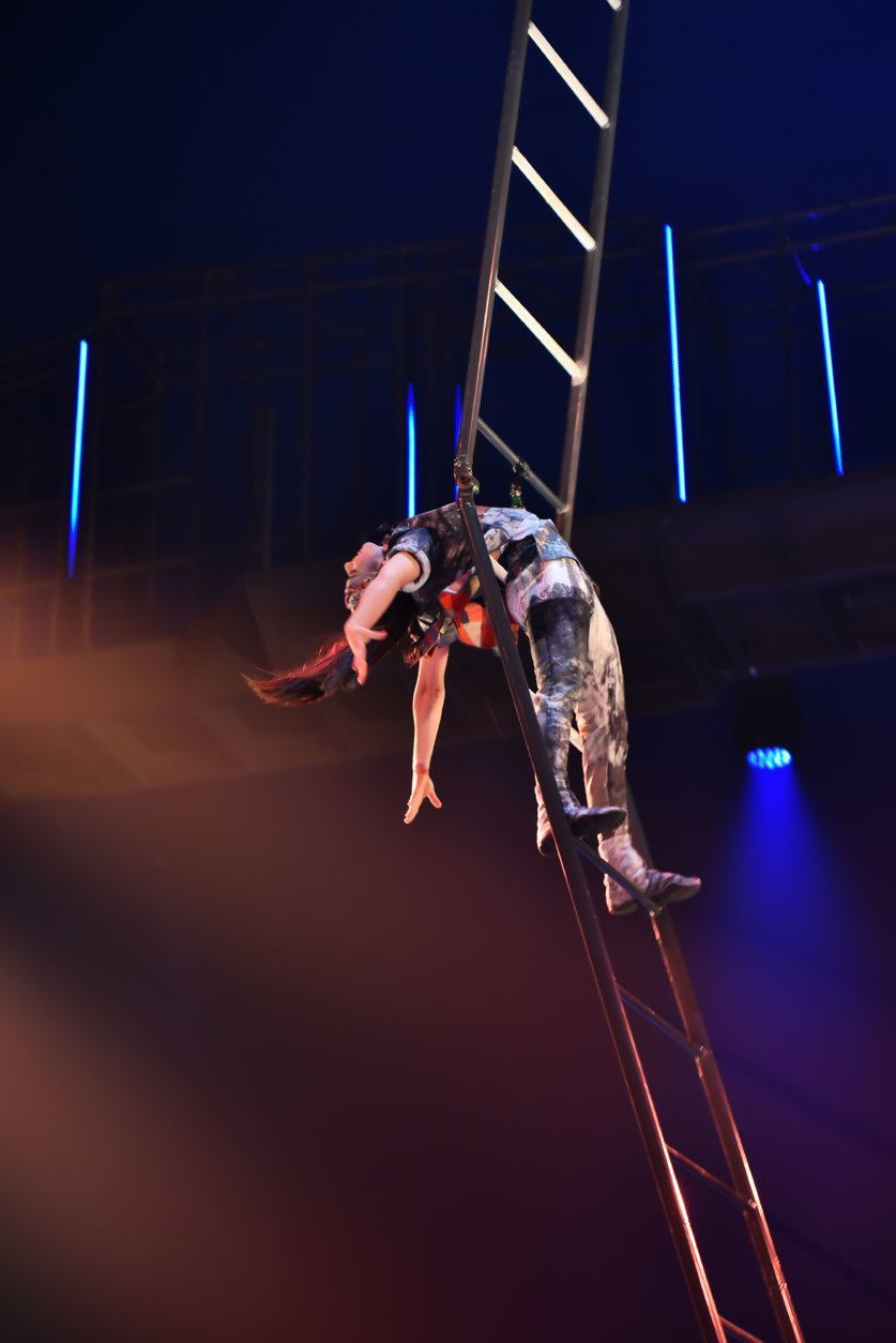 <p>The Washington, D.C. premiere of Cirque du Soleil&#8217;s &#8220;Volta&#8221; in Tysons on Thursday, July 25th.</p>