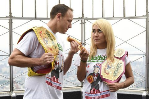Hot dog champ Joey Chestnut: I'll 'do what it takes' to win