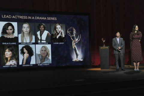 Partial list of nominees for annual Primetime Emmy Awards
