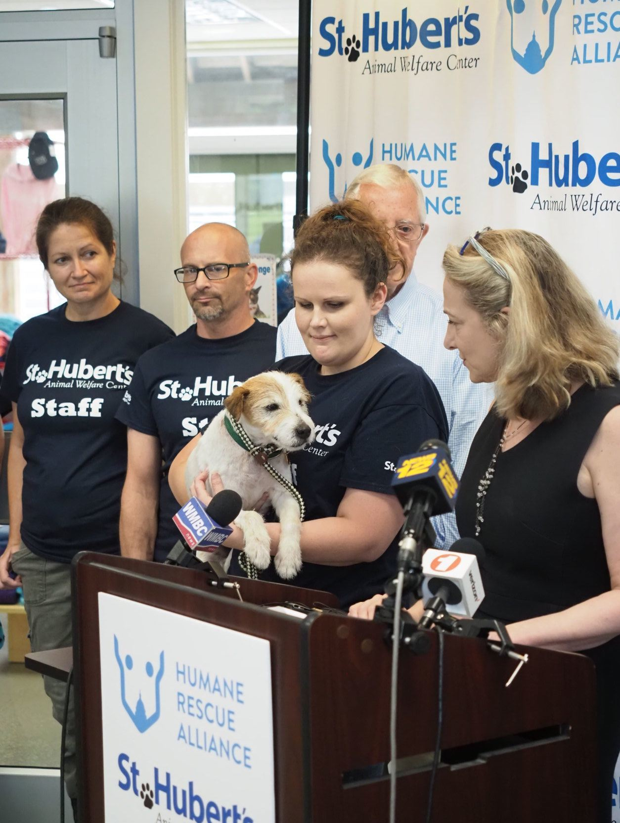 St. Hubert's Animal Welfare staff
