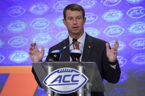 Clemson dominates preseason all-ACC team