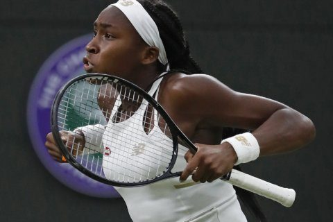 15-year-old Coco Gauff still unfazed, unbeaten at Wimbledon
