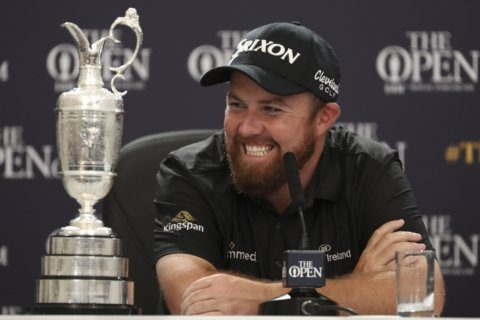 WATCH: Shane Lowry celebrates British Open win with rendition of 'The Fields of Athenry'