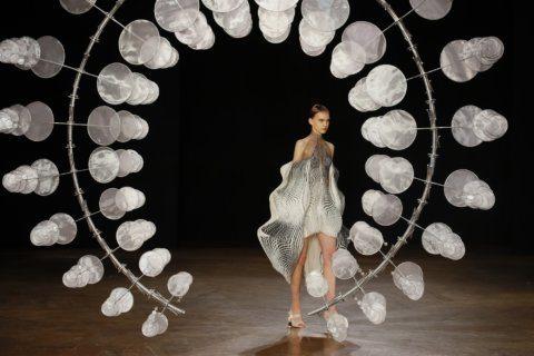 Dior's Chiuri channels black in Paris, receives top honor