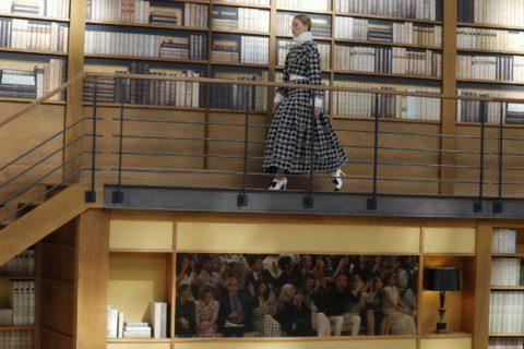 Chanel's new designer, Viard, unveils couture debut in Paris