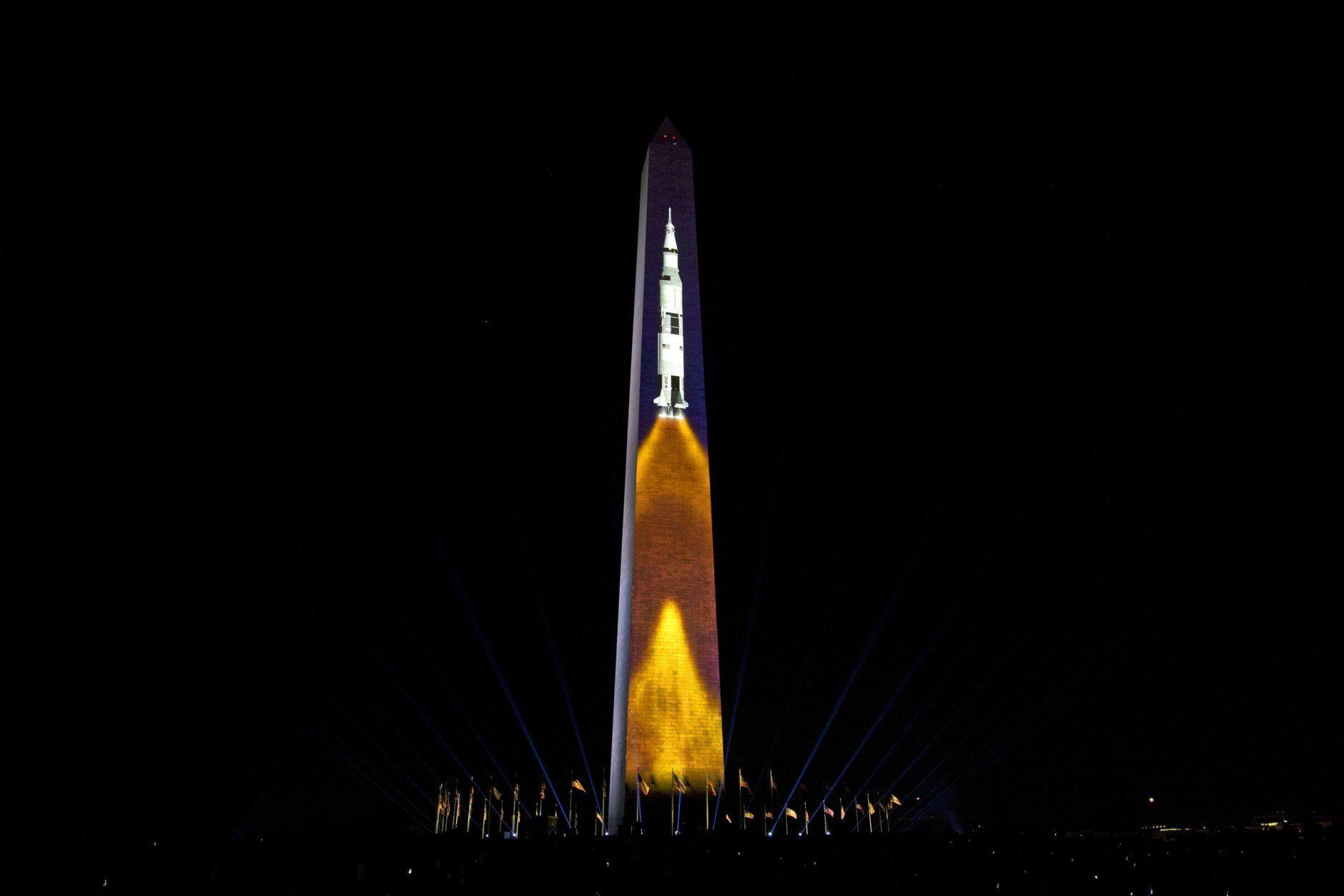 apollo 11 space mission washington monument - photo #19