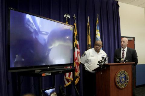 Body cam video shows shootout at Baltimore addiction clinic