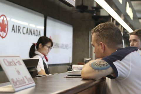 The Latest: Air Canada cabin bloody after turbulence
