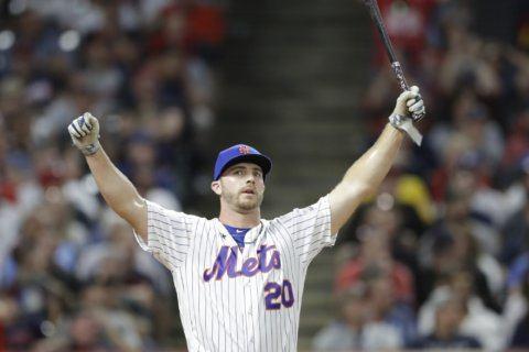 Money Ball: Mets' Alonso wins HR Derby, $1M, tops Vlad Jr