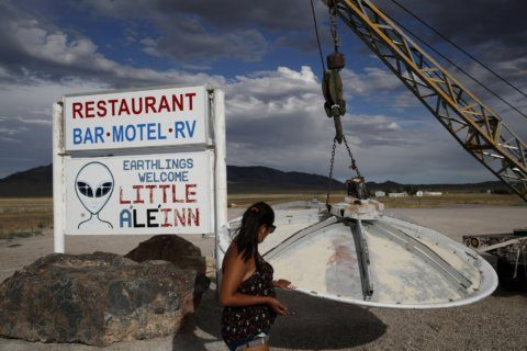 Rural Nevada not equipped for big 'storm Area 51' turnout