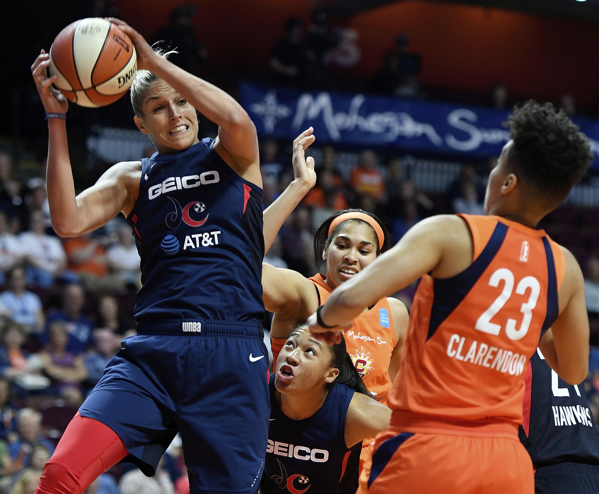 Ogwumike Gray Lead Sparks To 98 81 Win Over Mystics Wtop