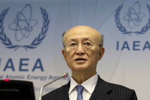 The Latest: UN's Guterres recalls IAEA head for 'equanimity'