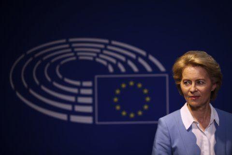 Von der Leyen seeks to secure EU top job at parliament