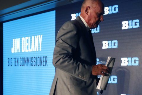 Big Ten's Delany says old mistakes to blame for college woes