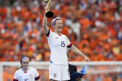Score! Megan Rapinoe book to be published next year